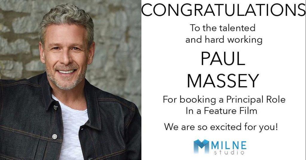 Actor success at Milne Studio Toronto