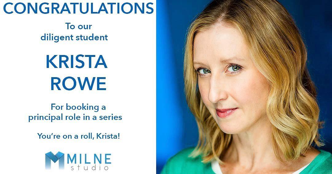 Acting Career Success at Milne Studio Toronto