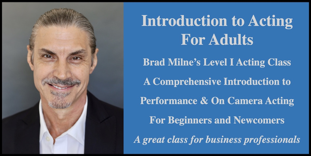 Acting Class for Beginners Online Course